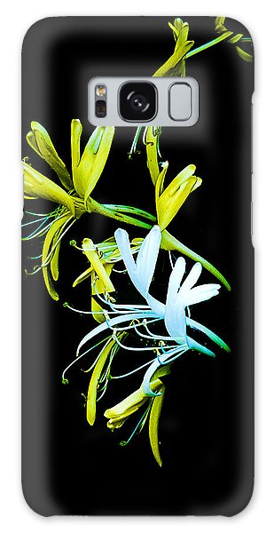 Galaxy Case featuring the photograph Japanese Honeysuckle by Bill Barber