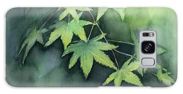 Maple Leaf Art Galaxy Case - Japanese Maple  by Olga Shvartsur
