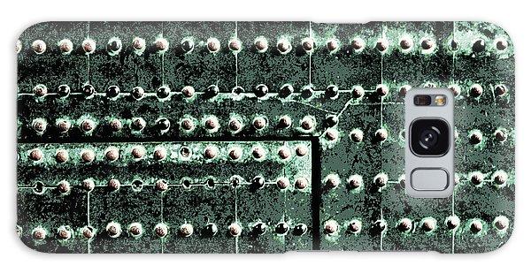 Patina Galaxy Case - Japanese Palace Wall Abstract by Carol Groenen