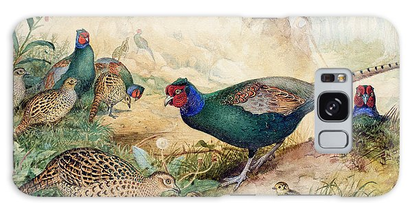 Japanese Pheasants Galaxy S8 Case