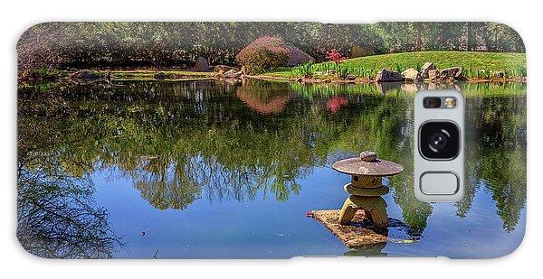 Japanese Reflections At Maymont Galaxy Case by Rick Berk