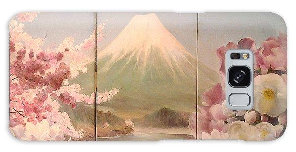 Japanese Spring Galaxy Case by Sorin Apostolescu