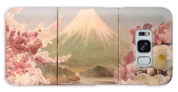 Japanese Spring Galaxy Case