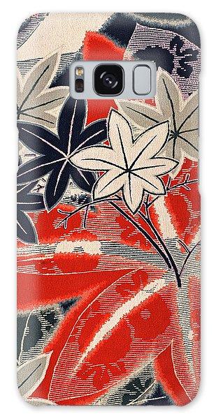 Tint Galaxy Case - Japanese Style Maple Interior Art Painting. by ArtMarketJapan