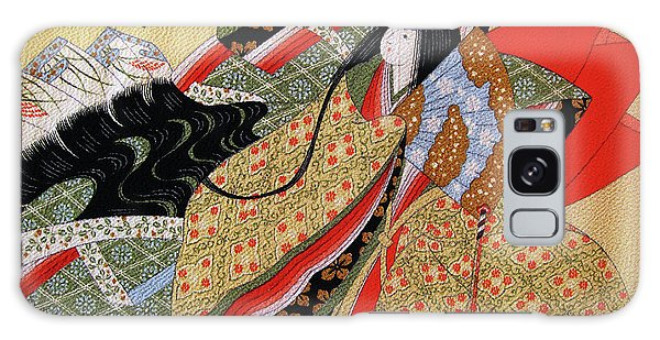 Japanese Textile Art Galaxy Case by Eena Bo
