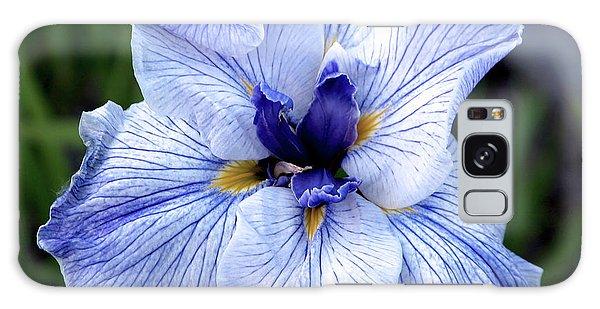 Japanese Water Iris In Blue 2695 H_3 Galaxy Case