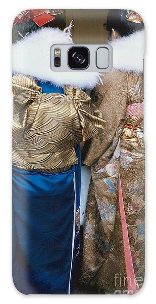Japanese Women In Kimono Photography - Two Bijin Galaxy Case