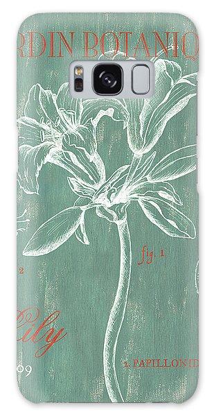 Lily Galaxy S8 Case - Jardin Botanique Aqua by Debbie DeWitt