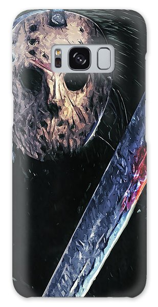 Jason Voorhees Galaxy Case