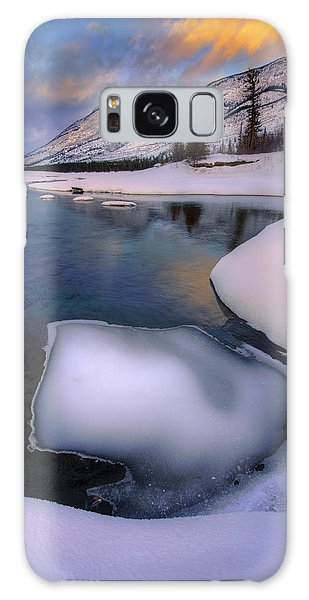 Jasper In The Winter Galaxy Case by Dan Jurak