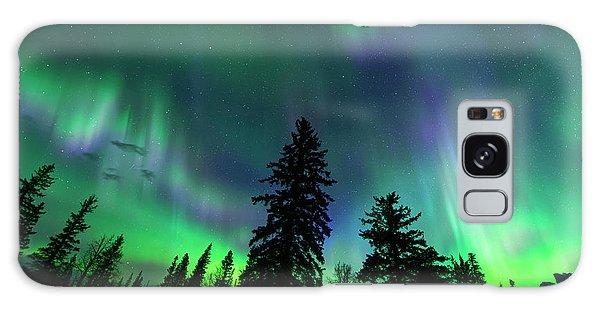 Jasper National Park Aurora Galaxy Case