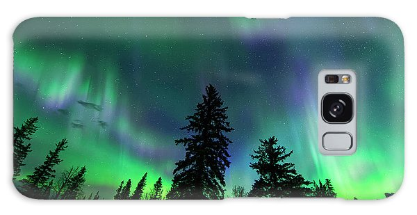Jasper National Park Aurora Galaxy Case