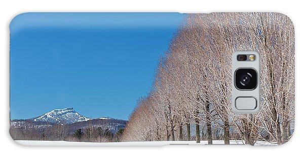 Jay Peak Winter Landscape Galaxy Case