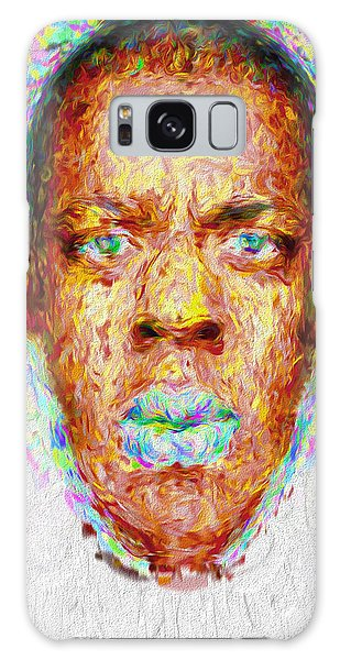 Jay Z Painted Digitally 2 Galaxy Case
