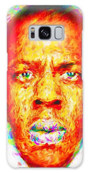 Jay-z Shawn Carter Digitally Painted Galaxy S8 Case