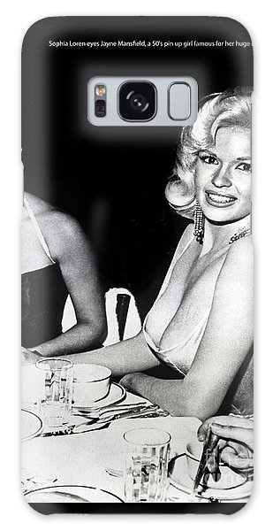 Jayne Mansfield Hollywood  Actress Sophia Loren 1957 Galaxy Case