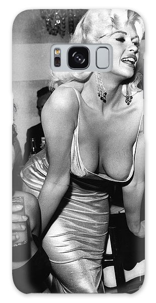 Jayne Mansfield Hollywood Actress And, Italian Actress Sophia Loren 1957 Galaxy Case