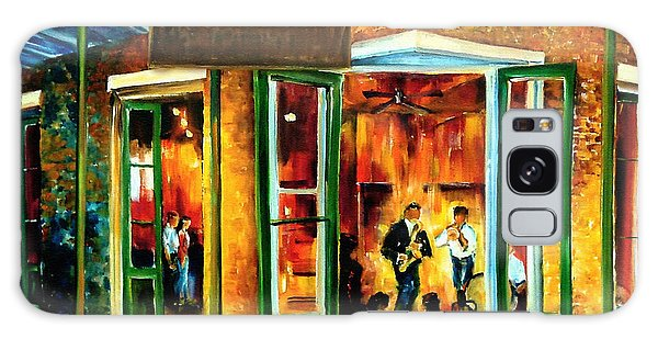 Figurative Galaxy Case - Jazz At The Maison Bourbon by Diane Millsap
