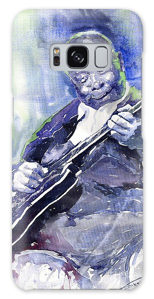 B B King Galaxy Case - Jazz B B King 02 by Yuriy Shevchuk