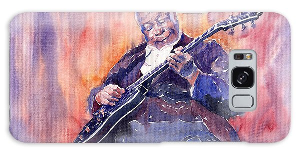 B B King Galaxy Case - Jazz B.b. King 03 by Yuriy Shevchuk