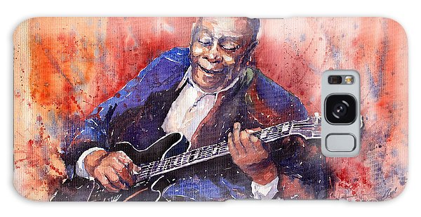 Guitar Galaxy Case - Jazz B B King 06 A by Yuriy Shevchuk