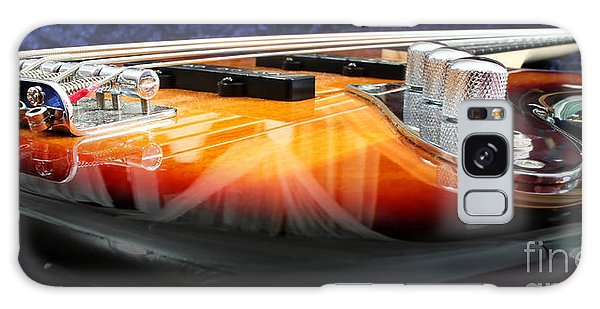 Guitar Galaxy Case - Jazz Bass Beauty by Todd Blanchard