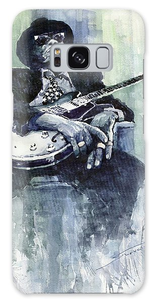 Portret Galaxy Case - Jazz Bluesman John Lee Hooker 04 by Yuriy Shevchuk
