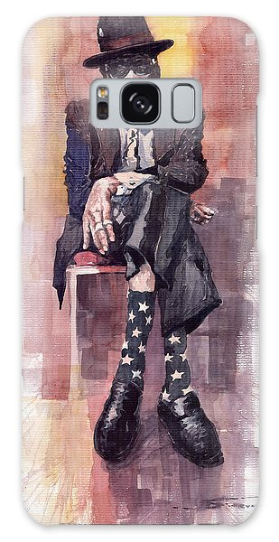 Portret Galaxy Case - Jazz Bluesman John Lee Hooker by Yuriy Shevchuk