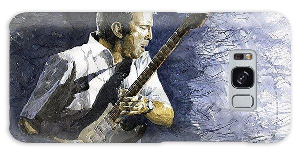 Eric Clapton Galaxy Case - Jazz Eric Clapton 1 by Yuriy Shevchuk