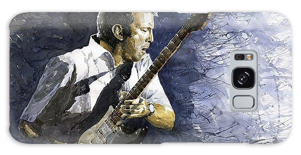 Portret Galaxy Case - Jazz Eric Clapton 1 by Yuriy Shevchuk