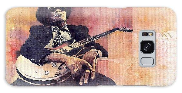 Jazz Galaxy Case - Jazz John Lee Hooker by Yuriy Shevchuk