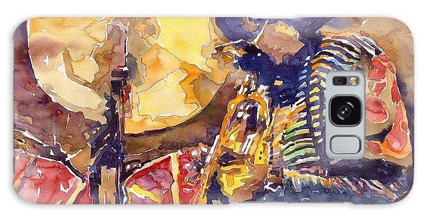 Figurative Galaxy Case - Jazz Miles Davis Electric 2 by Yuriy Shevchuk