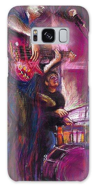 Jazz Purple Duet Galaxy Case