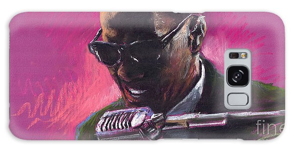 Portret Galaxy Case - Jazz. Ray Charles.1. by Yuriy Shevchuk