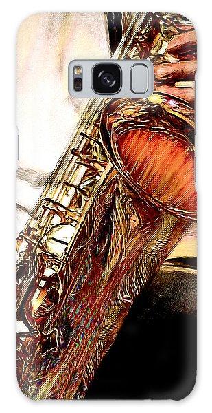 Jazzy Sax Galaxy Case