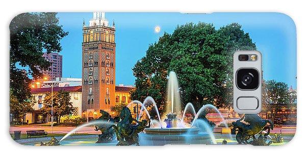 J.c. Nichols Memorial Fountain Galaxy Case