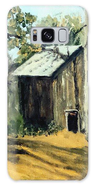 Jd's Backker Barn Galaxy Case by Jim Phillips