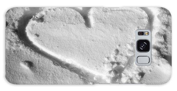 Winter Heart Galaxy Case by Juergen Weiss