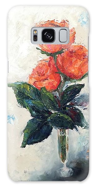 Jeannie's Roses Galaxy Case