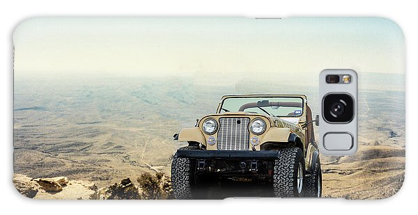 Jeep On A Mountain Galaxy Case