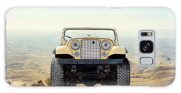 Jeep On Mountain Galaxy Case
