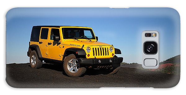 Jeep Rubicon In The Cinders Galaxy Case
