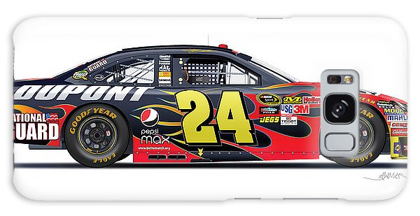 Jeff Gordon Nascar Image Galaxy Case