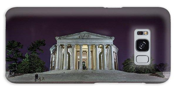 Jefferson At Night Galaxy Case