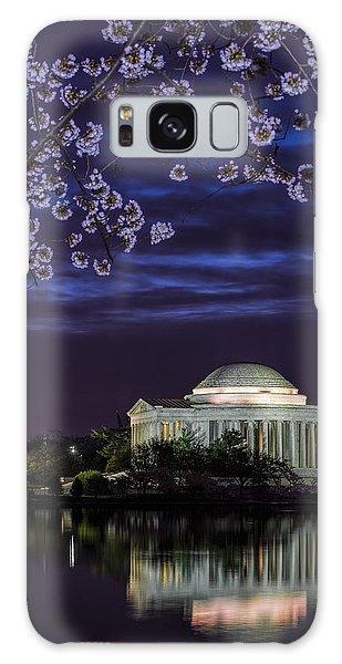 Jefferson Cherry Sunrise Galaxy Case