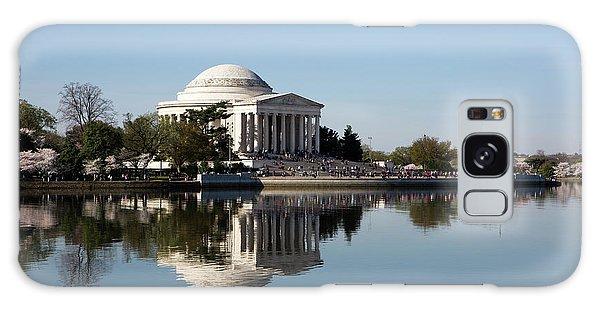 Jefferson Memorial Cherry Blossom Festival Galaxy Case