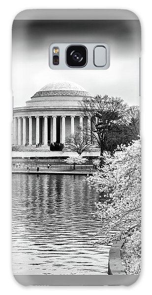 Jefferson Memorial Cherry Blosum Time Galaxy Case