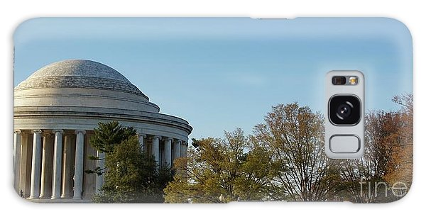 Jefferson Memorial Galaxy Case by Megan Cohen