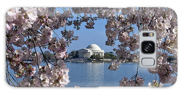 Washington D.c Galaxy Case - Jefferson Memorial On The Tidal Basin Ds051 by Gerry Gantt