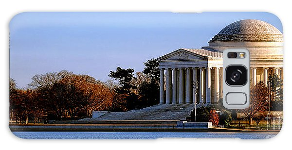 Jefferson Memorial Sunset Galaxy Case